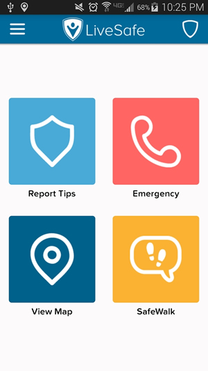 LiveSafe lets users report tips anonymously with GPS-tagged information that has pictures, video and audio; receive safety alerts; and learn more about local crimes.