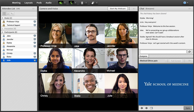 Students in Yale's online physician associate program would have the opportunity for campus visits during some parts of their studies.