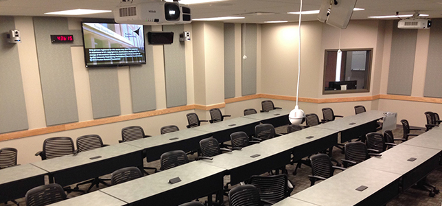 Classroom Design And Delivery : Designing learning spaces for both online and on campus