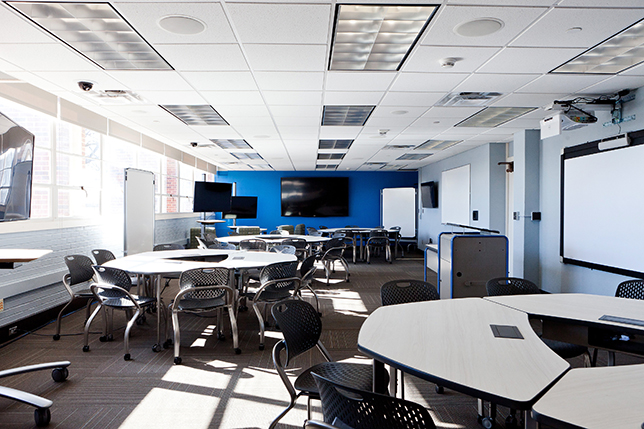 Classroom Av Design ~ Secrets of active learning classroom design campus