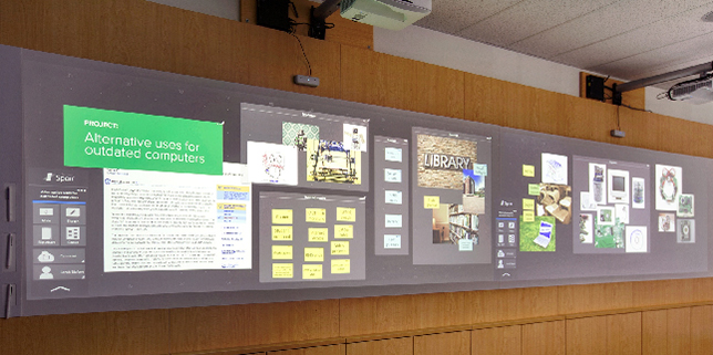 Interesting approach re: a classroom of the future: 360