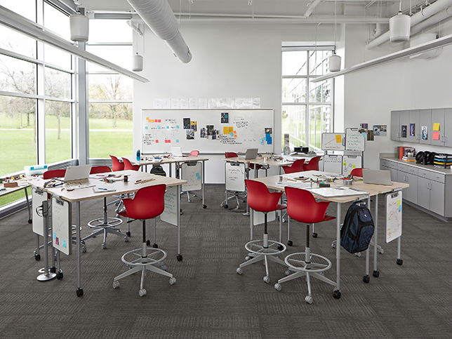 Steelcase active learning classroom