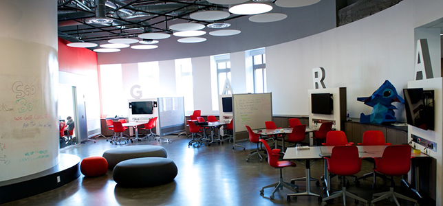 Innovative Math Classrooms ~ Designing learning spaces for innovation campus technology