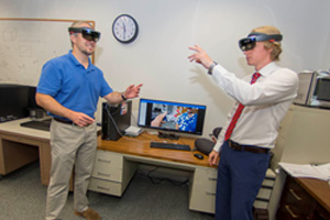 WPI Researchers Use HoloLens to Visualize Complex Biological