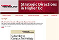Strategic Directions in Higher Education newsletter