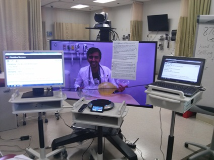 telemedicine video conferencing at U Arkansas
