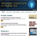 strategic directions in higher ed: thumbnail