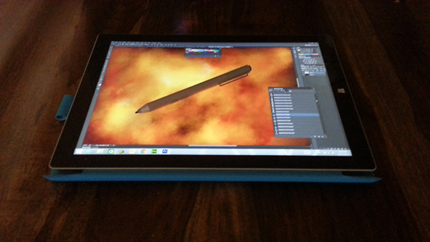 microsoft surface pro 3 drawing surface