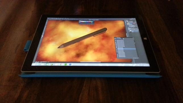 Photoshop: Microsoft Surface Pro Wacom Pen   Photoshop ...