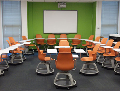 U Tennessee s New Classrooms Focus on Student Centric